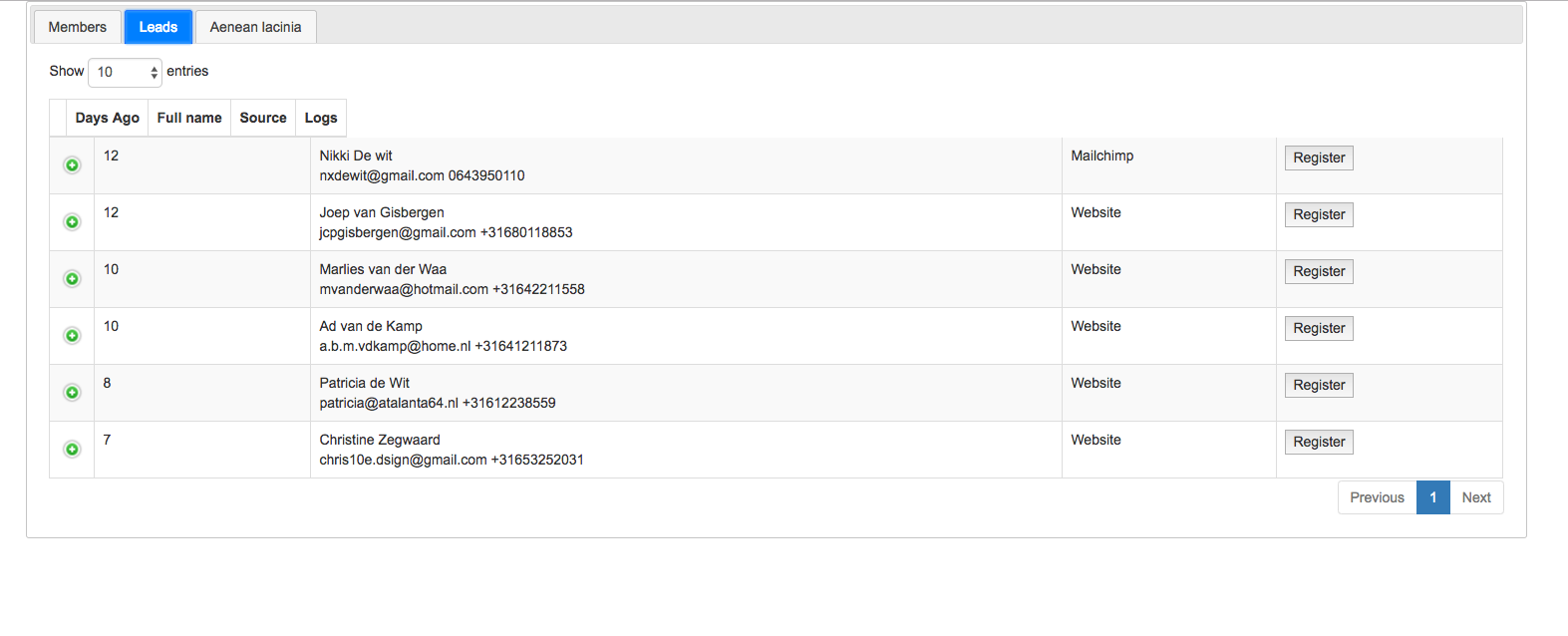 datatables with jquery tabs - column header size changed