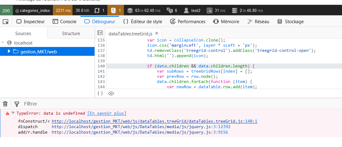 TreeGrid for DataTable — DataTables forums