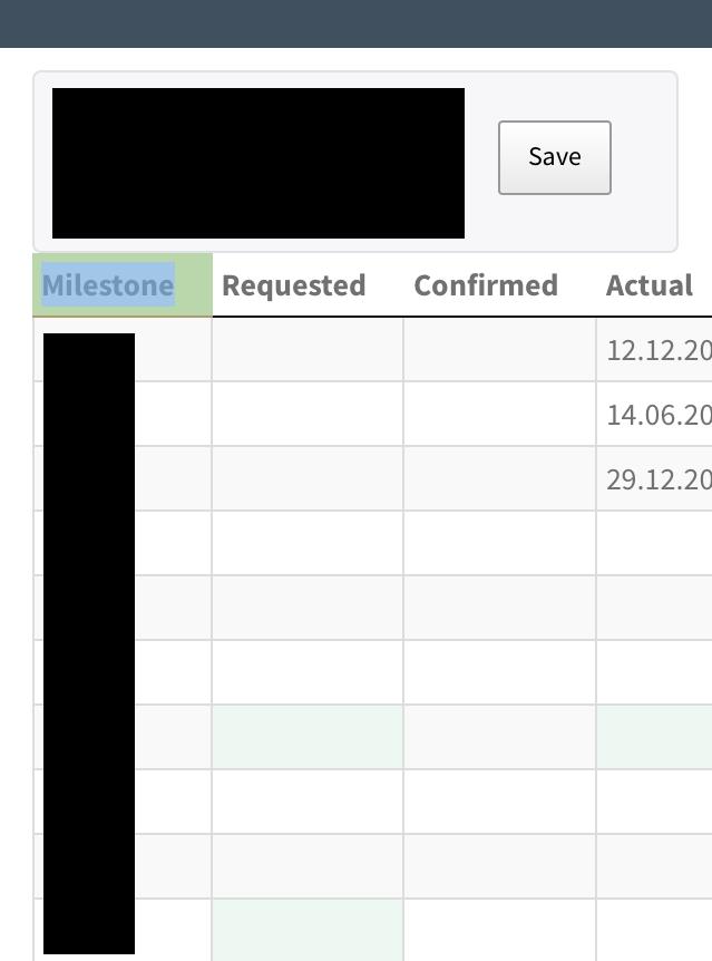 Responsive column width — DataTables forums