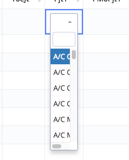 Select2 column width too small — DataTables forums